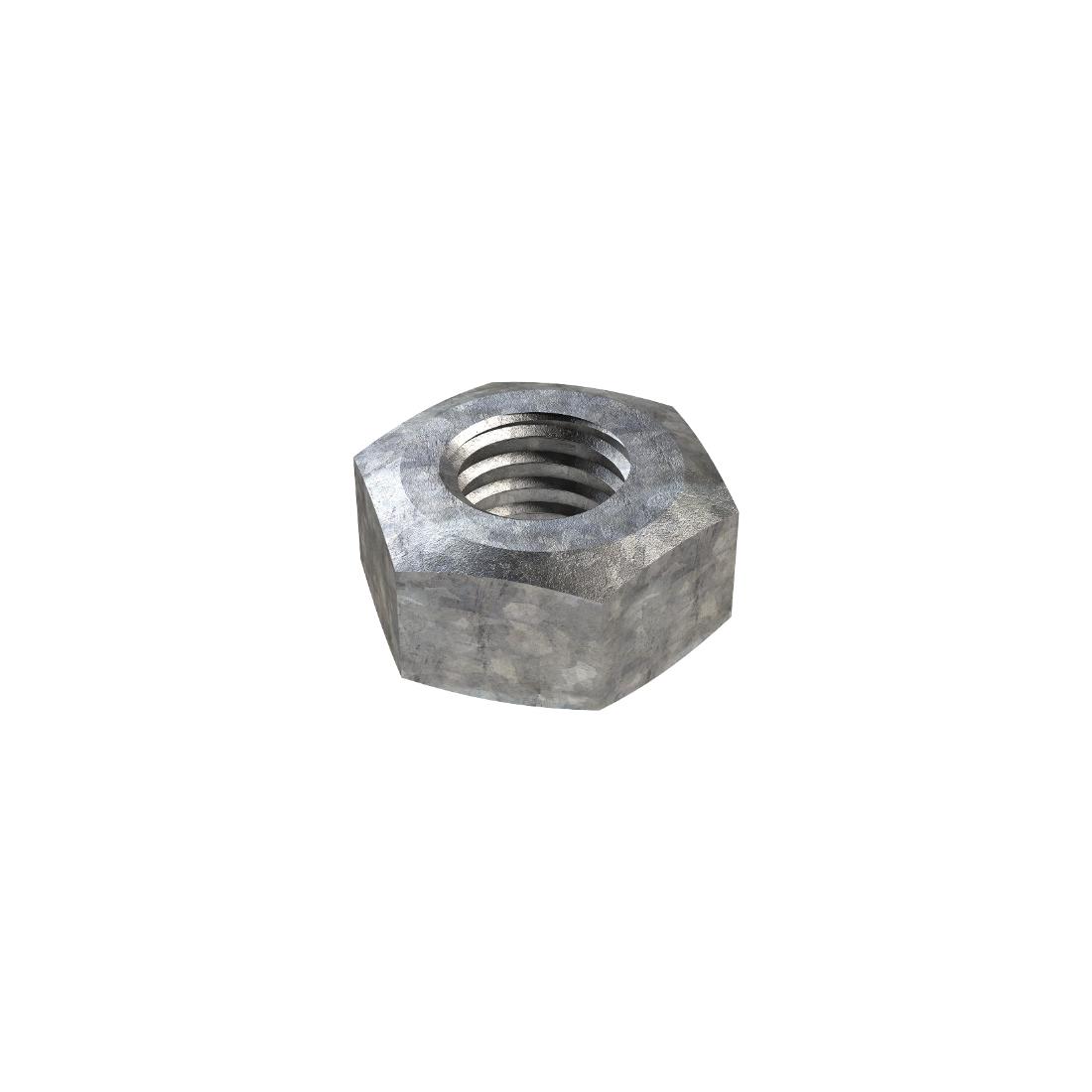 Hexagon Nut M12 Class 8 Galvanised N46MG1200P6