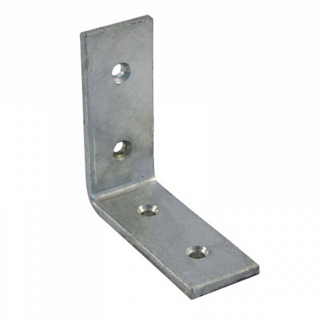 Heavy Duty Angle Bracket 125 x 100 x 20mm Zinc Plated BANHZ125S020R