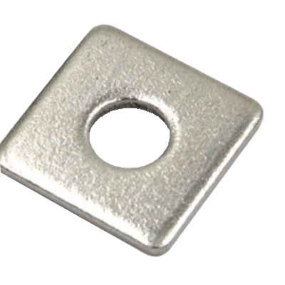 Flat Square Washer M10 x 50 x 3mm A4 T316 Stainless Steel WSQM6105034