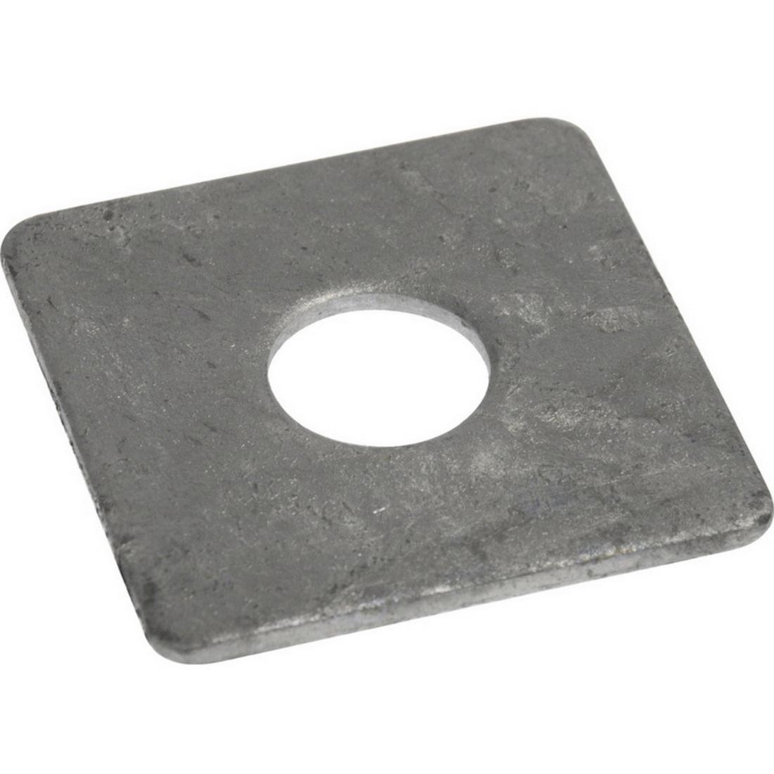 Flat Square Washer M12 x 50 x 6mm Galvanised WSQMG125066