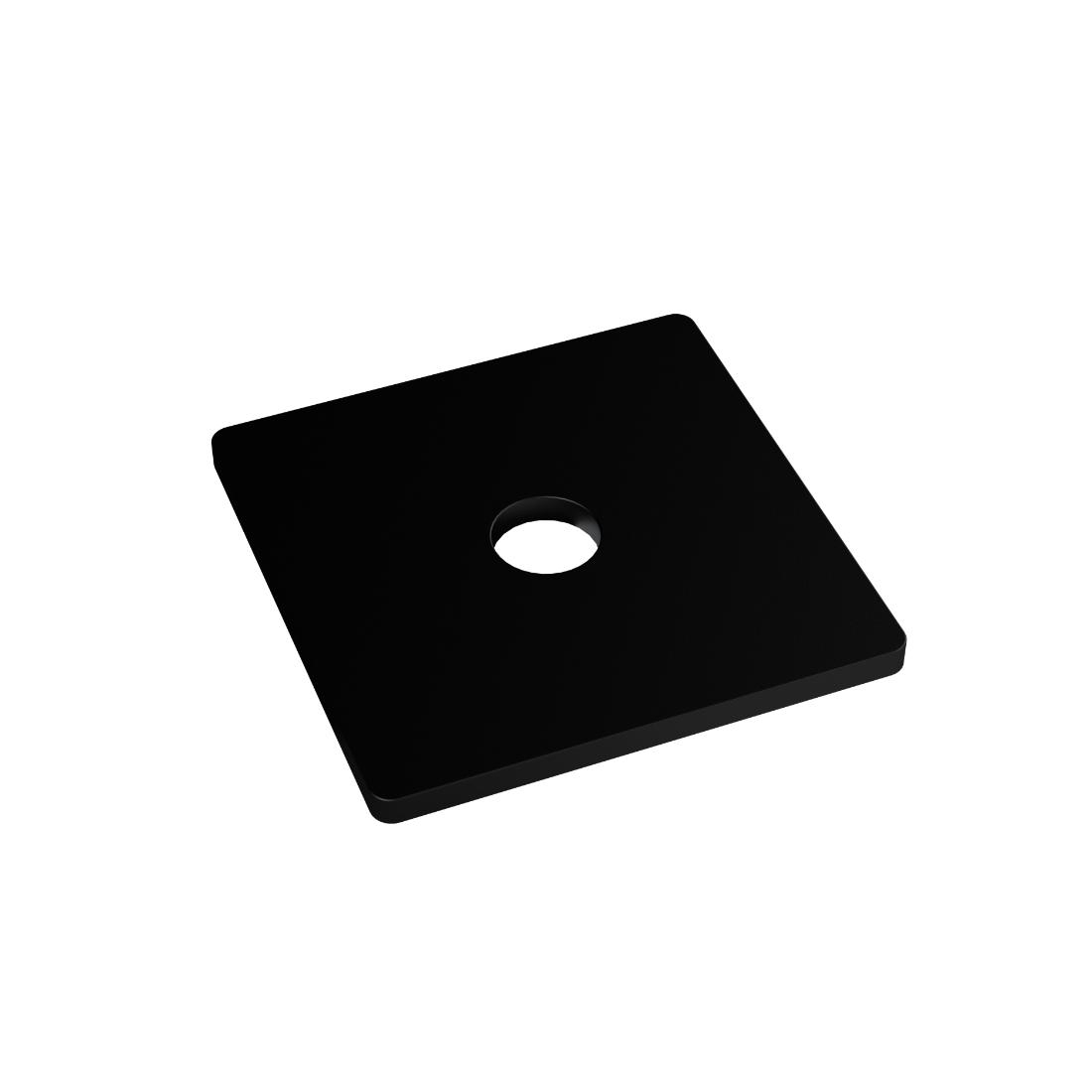 Flat Square Washer 12 x 50 x 3mm EPDM WSQME125036