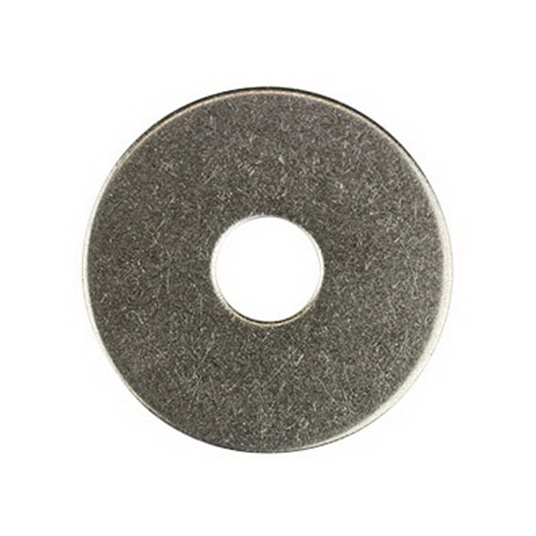 Flat Round Washer M10 x 24 x 3mm Mild Steel Galvanised WFRMG102436