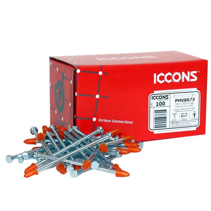 3.7x75mm Drive Pin Galvanised 100 box