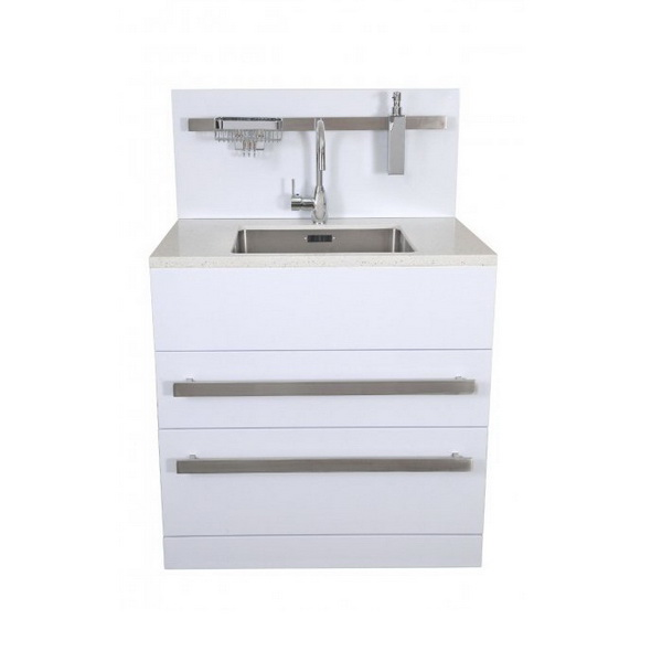Composite Top 2 Drawer Laundry Tub Mixer