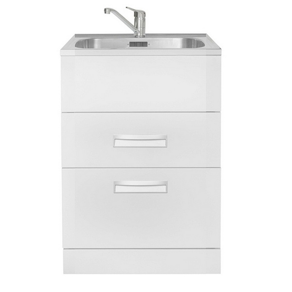 HubTub Premium Drawer 560 2 Drawer Laundry Tub