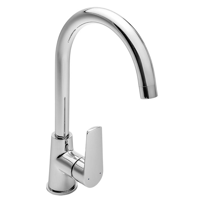 Atlanta Sink Mixer Mains Pressure Chrome