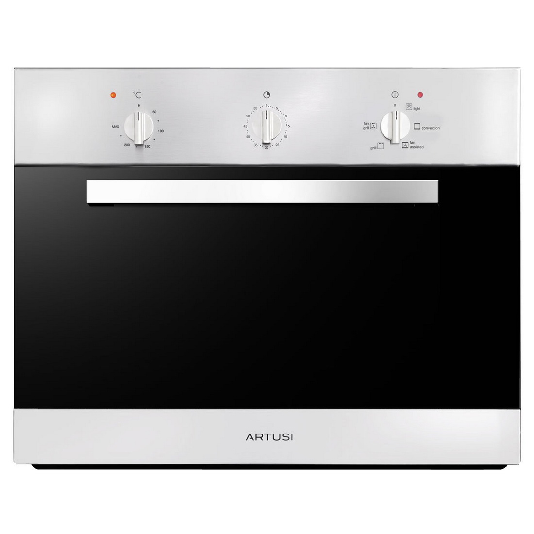 5 Function Built in Oven with Minute Minder 45cm 43L Stainless Steel AO450X