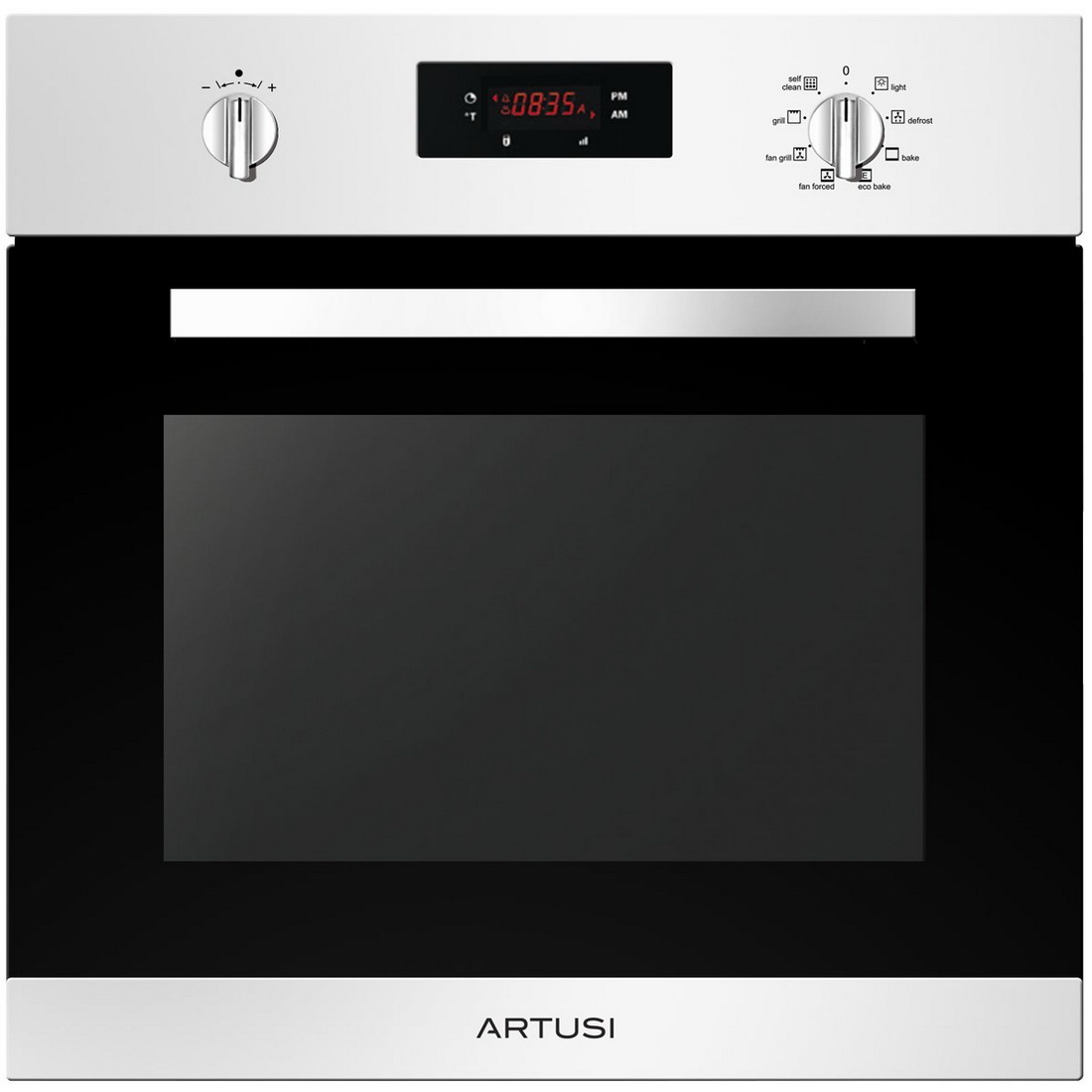 9 Function Built in Oven 60cm 65L Stainless Steel AO654XP