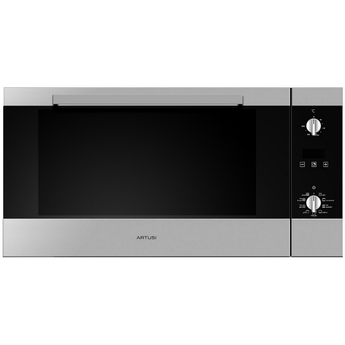9 Function Built in Oven 90cm 81L Stainless Steel AO900X