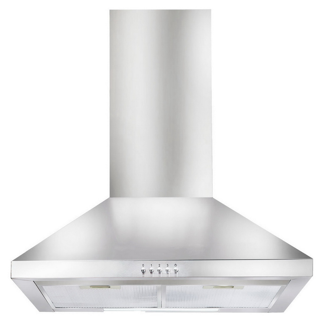 Canopy Wall Mount Rangehood 60cm Stainless Steel ACH600X
