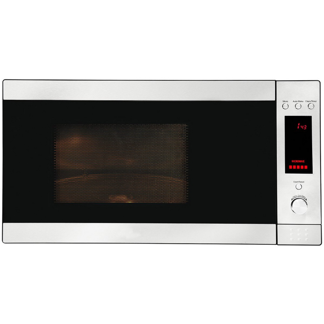 6 Cook Function Microwave Oven 31L Stainless Steel AMO31X