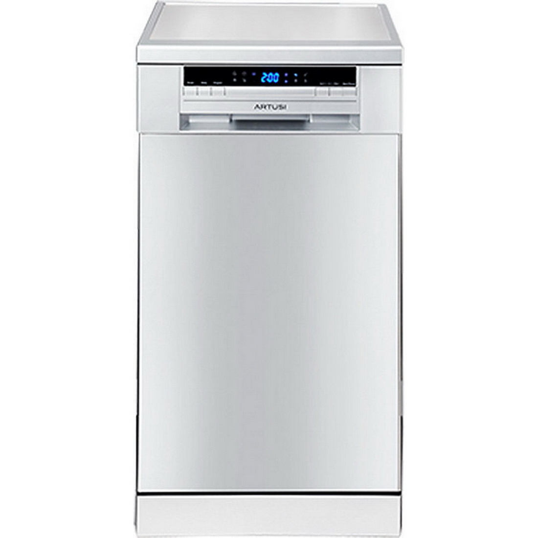 Freestanding Dishwasher 9 Place Settings 6 Wash Programs Stainless Steel Adw4500x Dishwashers Kitchen Appliances Kitchens Kitchens Laundry Shop Placemakers