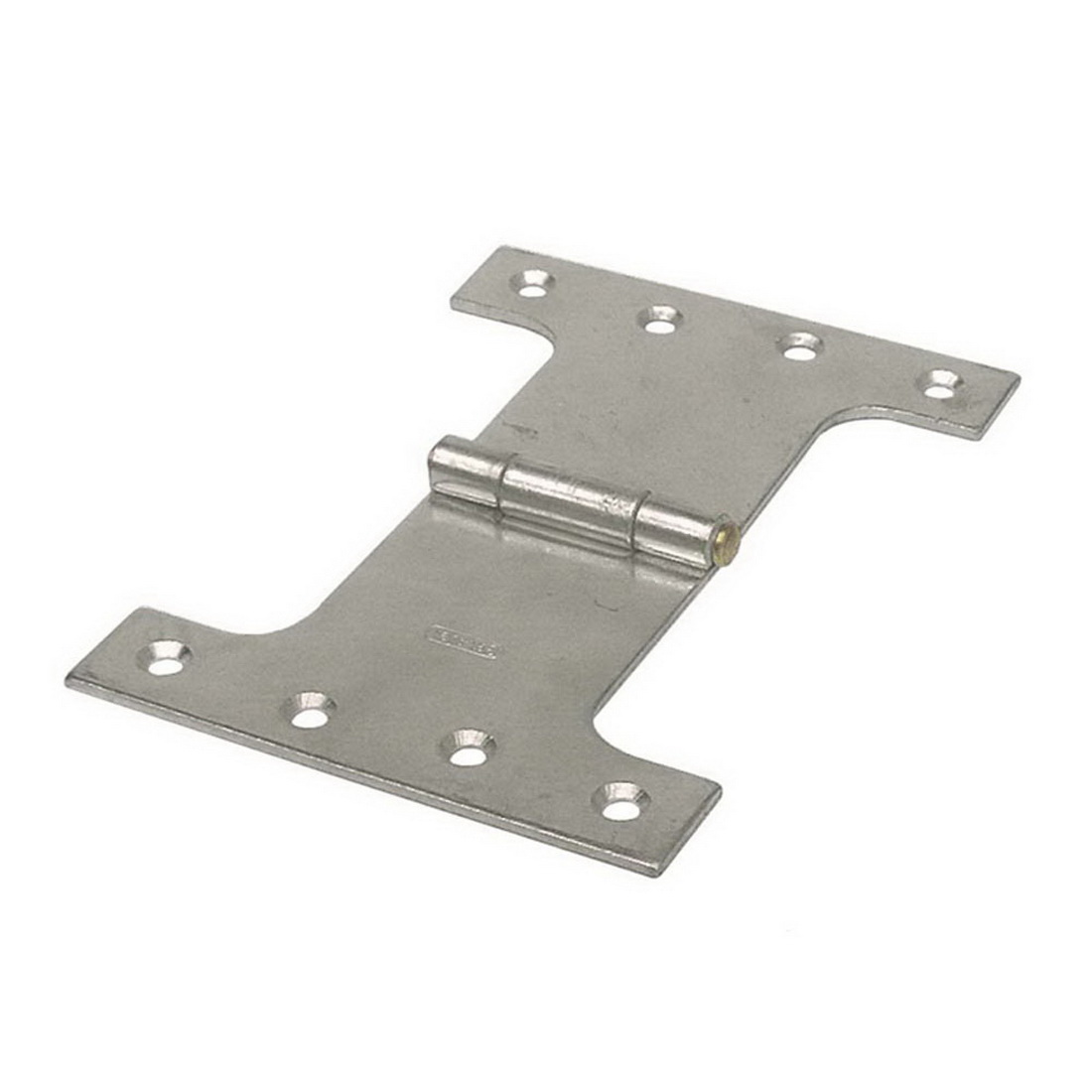 127mm Fixed Pin Wide Throw Parliament Butt Hinge Zinc Plated