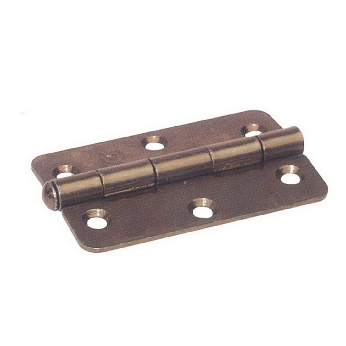 60 x 90mm Loose Pin Narrow Small Radius Butt Hinge Florentine Bronze