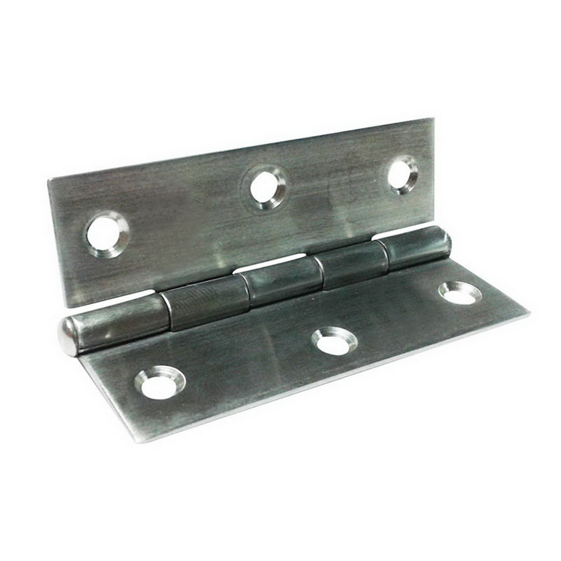 50 x 75mm Fixed Pin Narrow Butt Hinge 304 Stainless Steel