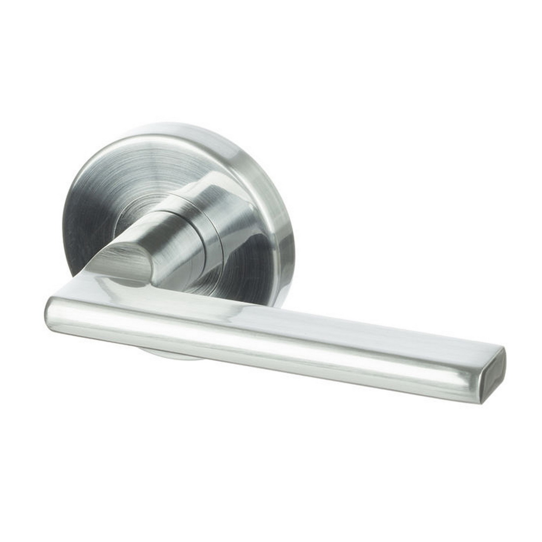 S Range Sara Passage Lever Set Satin Chrome