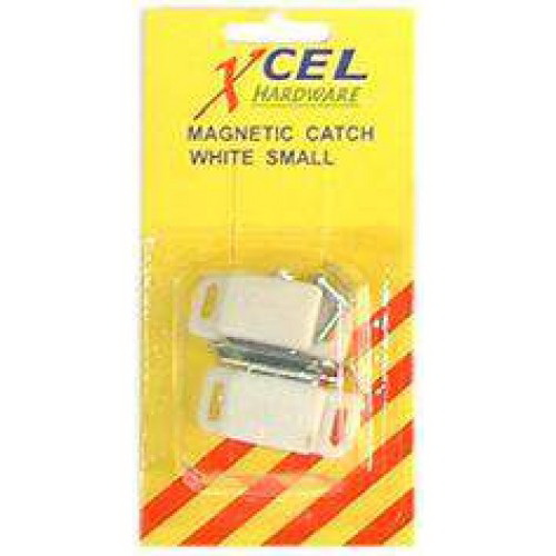 Small Magnetic Catch White 2 Card