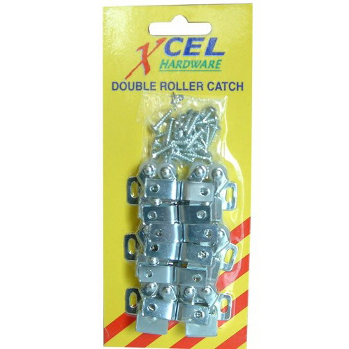 Double Ball Roller Catch Metal 6 Card