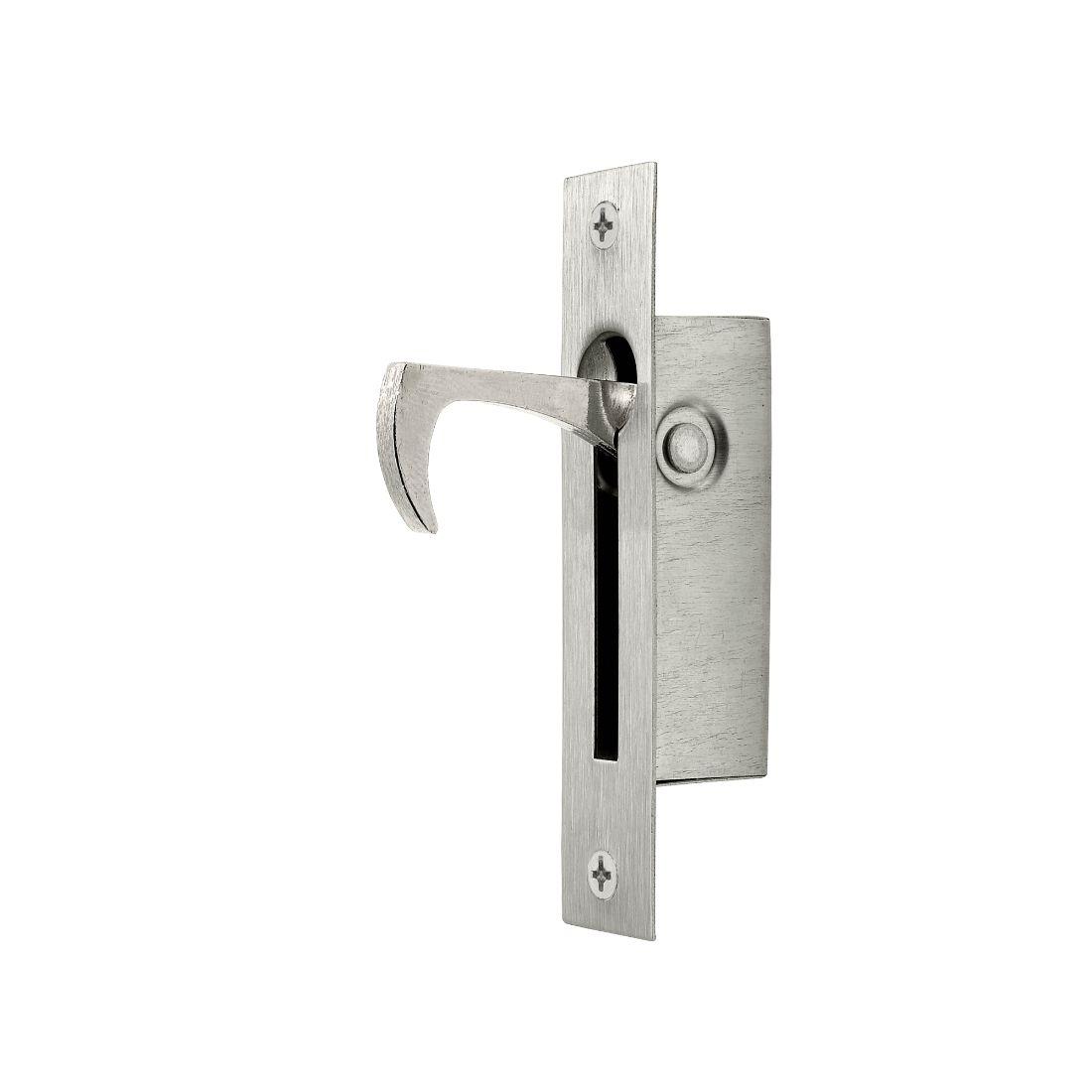 Sliding Door Edge Pull 100 x 20mm Stainless Steel