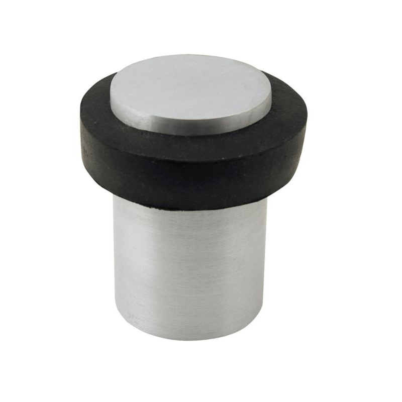 Floor Mount Door Stop Brushed Nickel