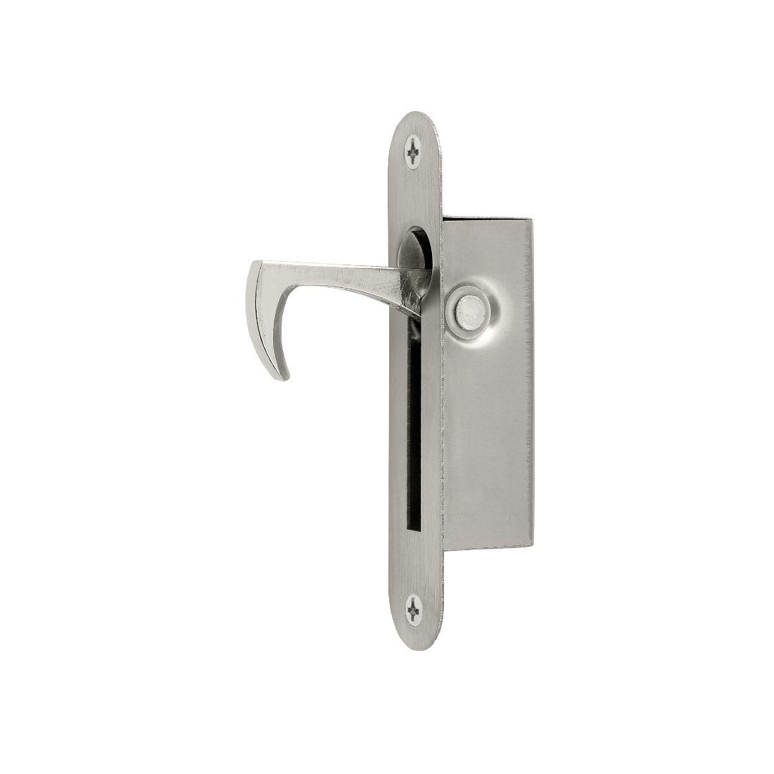 Oval Door Edge Pull 100 x 20mm Stainless Steel