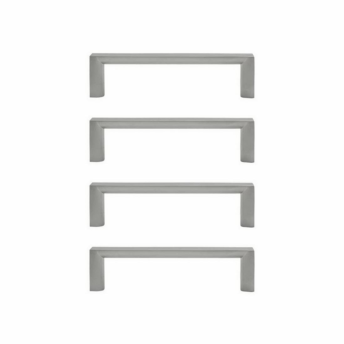 Sincro Cabinet Handle 128mm Zinc Die-Cast Brushed Nickel 4 pack 6069-4-BN