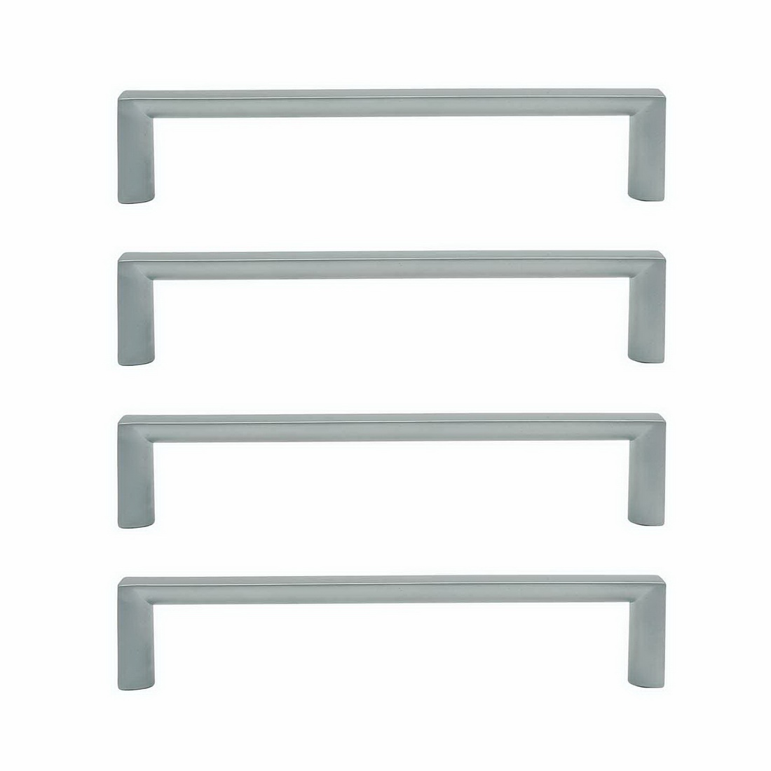 Sincro Cabinet Handle 160mm Zinc Die-Cast Brushed Nickel 4 pack 6749-4-BN
