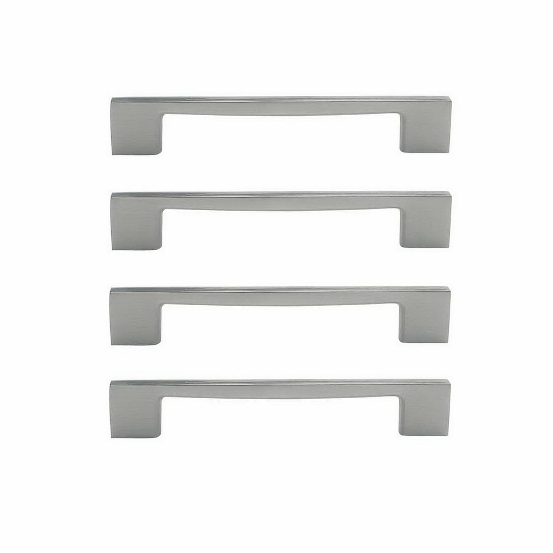 Marco Cabinet Handle 160mm Zinc Die-Cast Brushed Nickel 4 pack 6338-4-BN