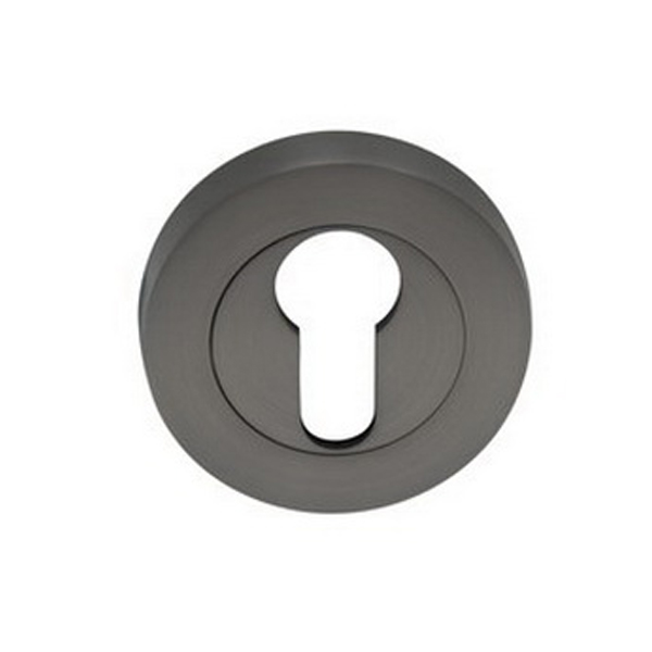 Futura Round Euro Escutcheon 54 x 10 mm Brushed Nickel Pair 9035-BN
