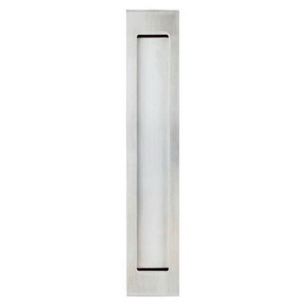 Long Square Flushpull 200 x 37mm Stainless Steel 5304-SS