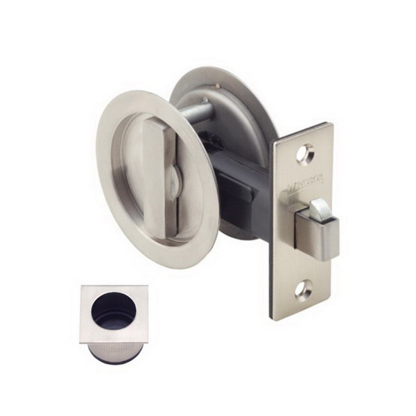 Round Cavity-Suite Privacy Kit Stainless Steel