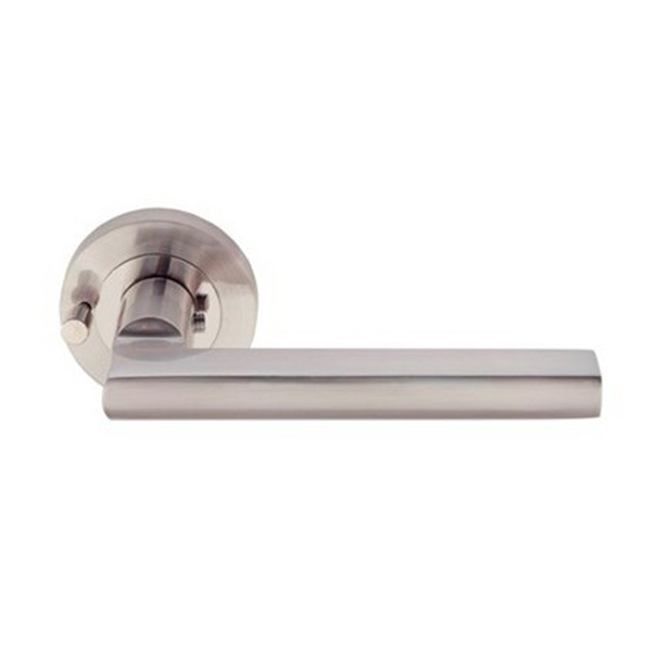 Apex Futura Round Integrated Privacy Set Brushed Nickel
