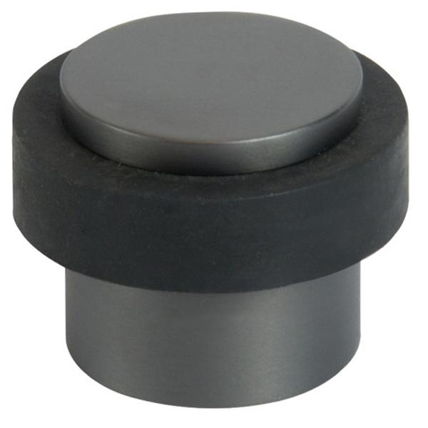 Floor Mount 1-Piece Door Stop Graphite Nickel