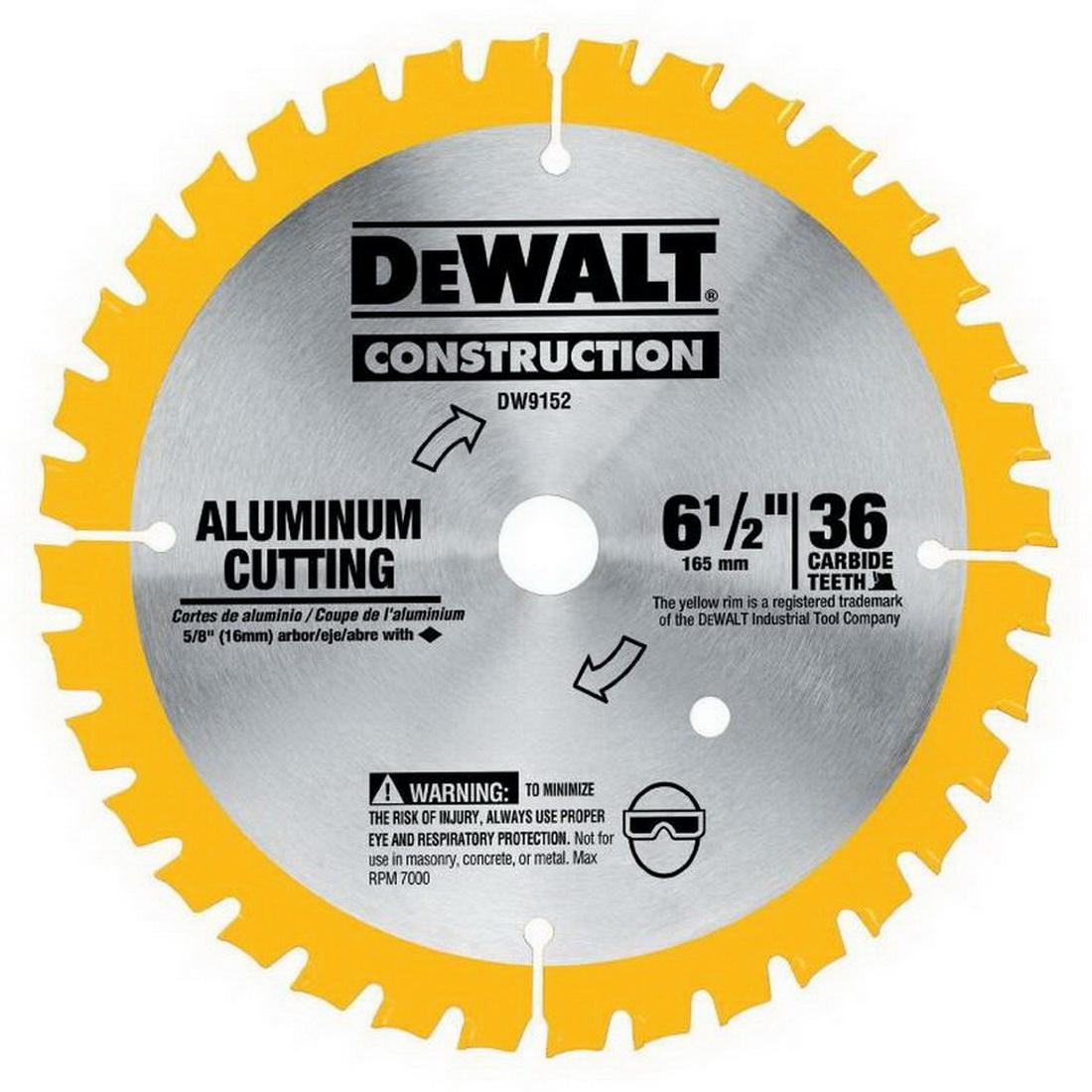 165 x 16mm 36T Construction Circular Saw Blade Carbide