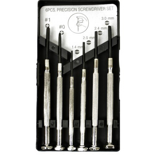 6-Piece Jewellers Screwdriver Set