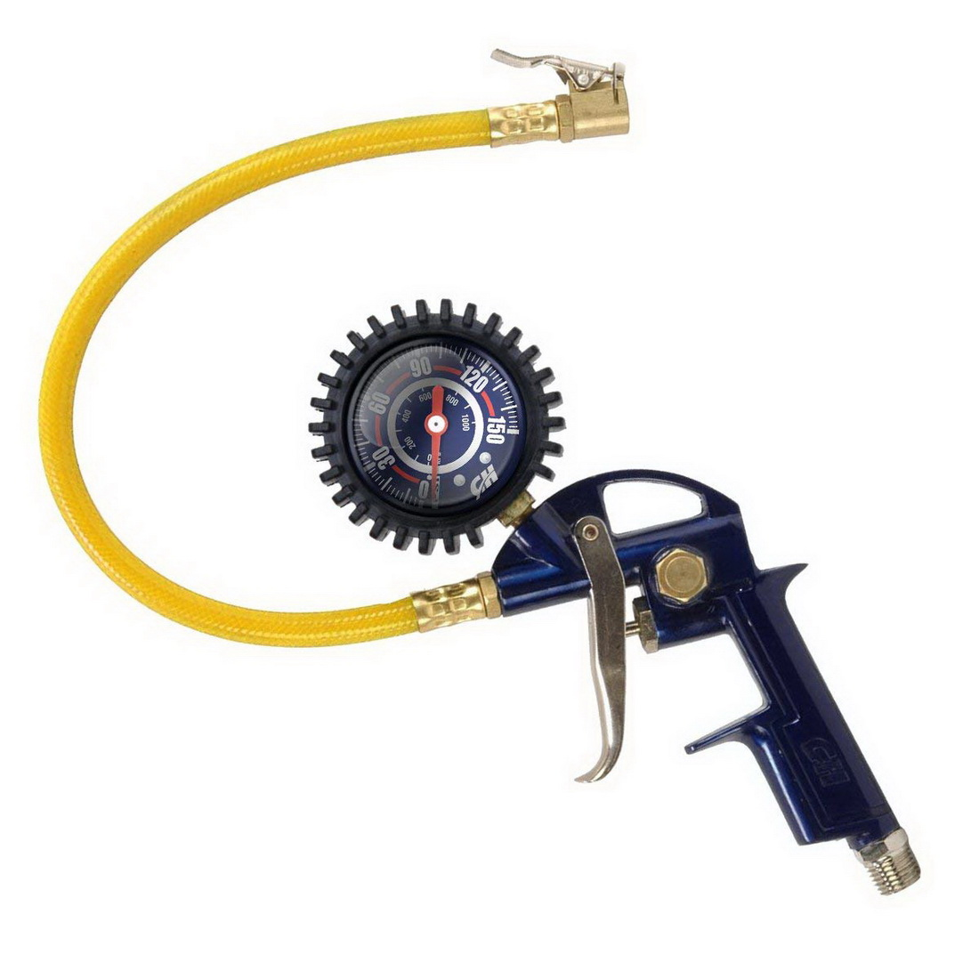 Tyre Inflator with Gauge 10 - 100psi MP6000