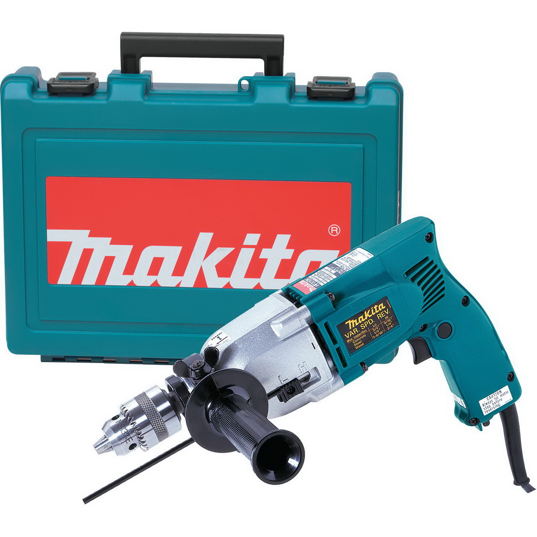 1/2-3/4 Inch Corded Hammer Drill With Led Light