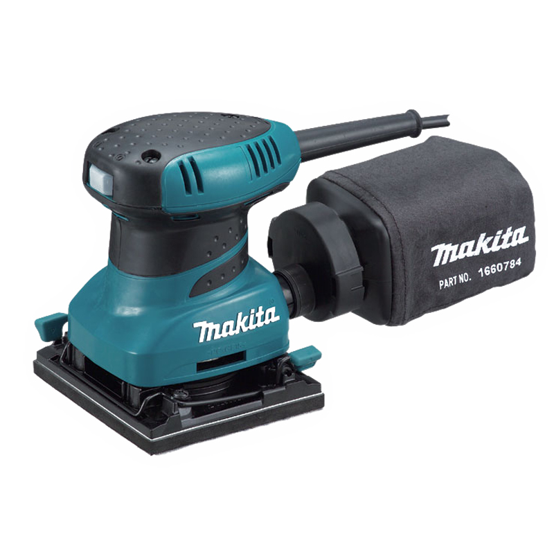 200W 112 x 102mm Corded 1/4 Sheet Palm Sander