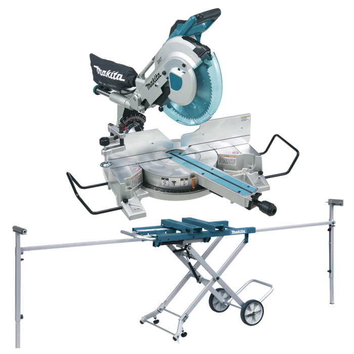 Mitre Saw And Stand Combo 305mm 1650W 3200/Min