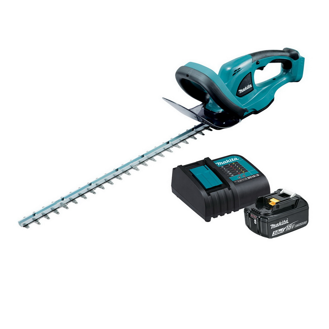 Lxt Hedge Trimmer Kit 18V 3Ah 520mm Blade Length