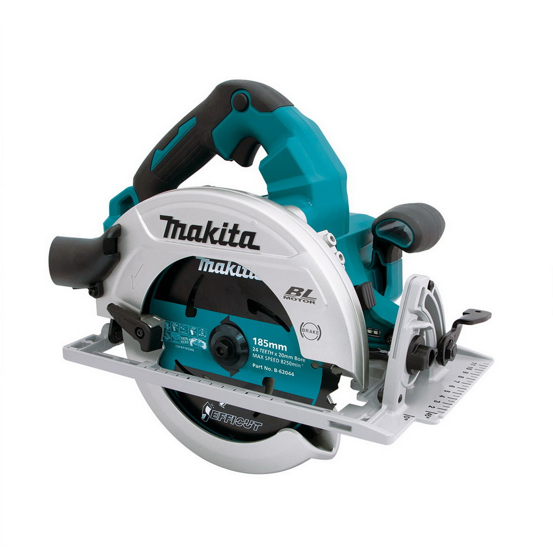 36V 185mm Lithium-Ion Cordless Brushless Circular Saw Skin