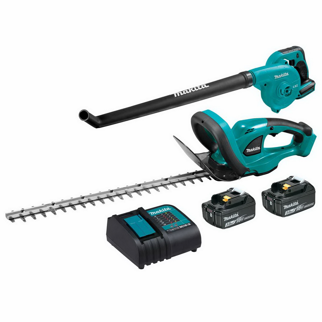 Lxt Li-Ion Hedge Trimmer & Blower Combo Kit 18V 3Ah