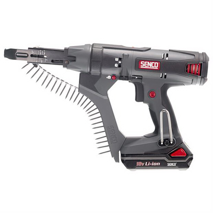 Cordless Auto-Feed Collated Drywall Screw Driver 18V 2in 5000rpm DS215-18V