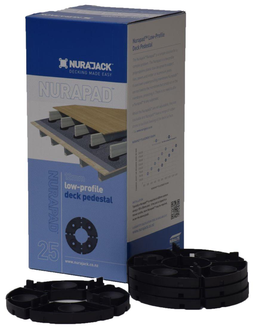 Joist & Tile Nurapad 12mm NJNP25 25 Pack