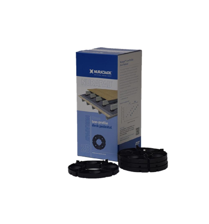 12x2mm Standard Nurapad Black 25 box pack
