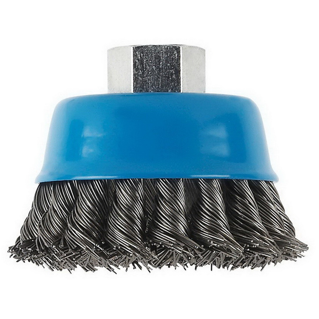 Knotted Wire Cup Brush 75 x 14 x 0.5mm 12500rpm 1608622029