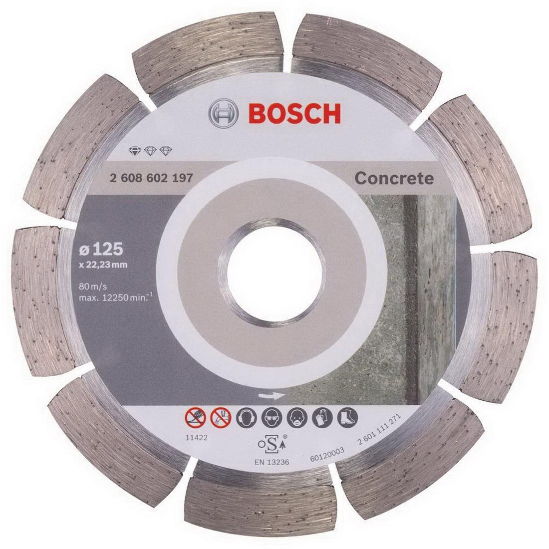 Diamond Cutting Disc 125 x 22.23 x 1.6 x 10mm 2608602197