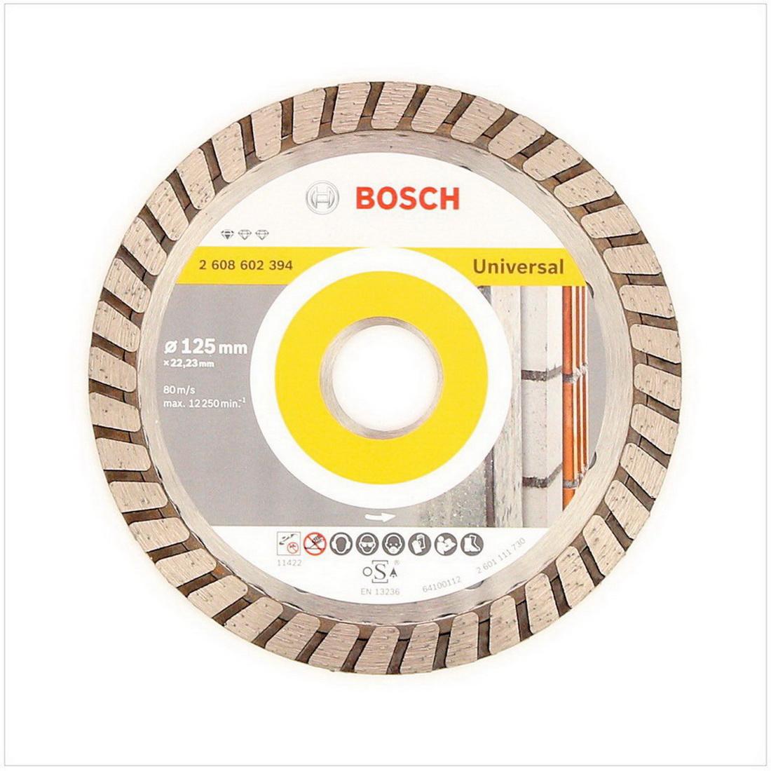 Professional Diamond Cutting Disc 125 x 22.23 x 2 x 10mm 2608602394