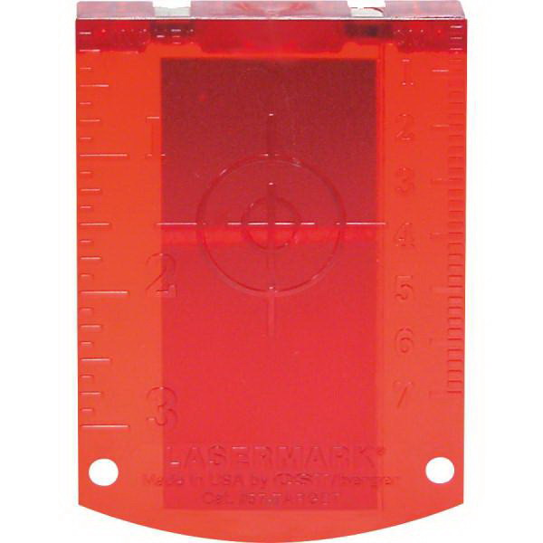 Laser Target Red