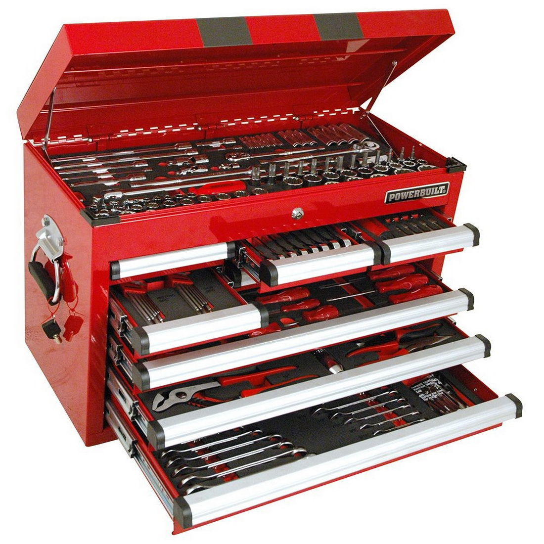 248 Piece Complete Tool Chest and Assorted Tools CCT004F